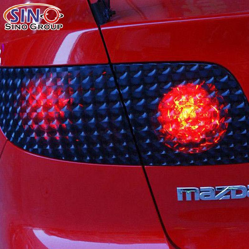 卡莱克汽车车身改色大灯膜系列之3D猫眼大灯膜