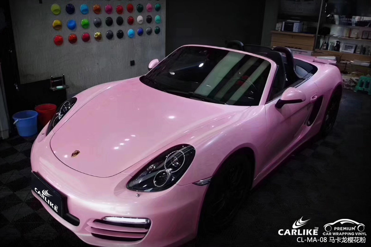浅谈如何选择车身改色膜的颜色