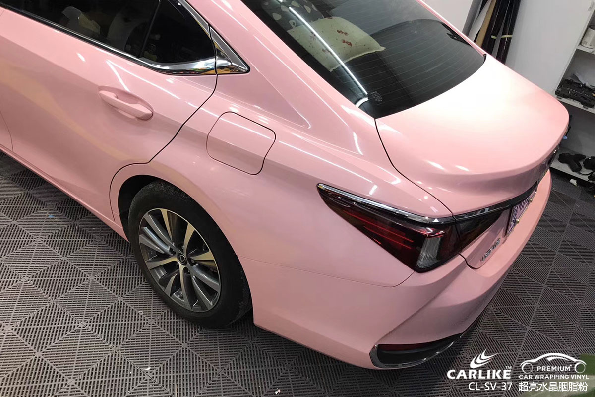 CARLIKE卡莱克™CL-SV-37雷克萨斯超亮水晶胭脂粉全车改色膜
