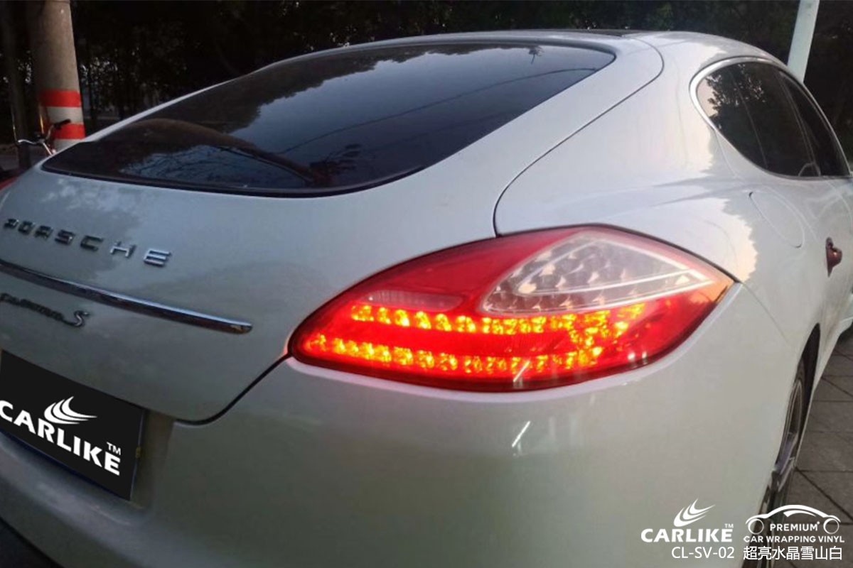 CARLIKE卡莱克™CL-SV-02保时捷超亮水晶雪山白汽车贴膜