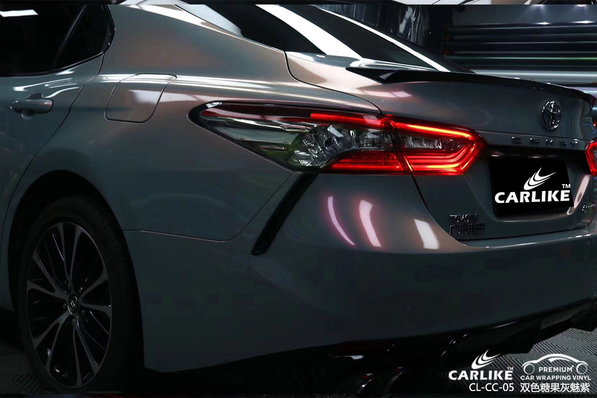 CARLIKE卡莱克™CL-CC-05丰田双色糖果灰魅紫改色贴膜