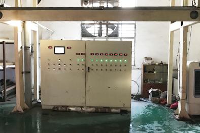 欣浪公司工厂贴膜质量检测机器