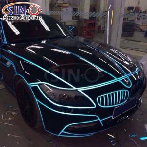 美国3M车身反光条汽车拉花装饰反光带