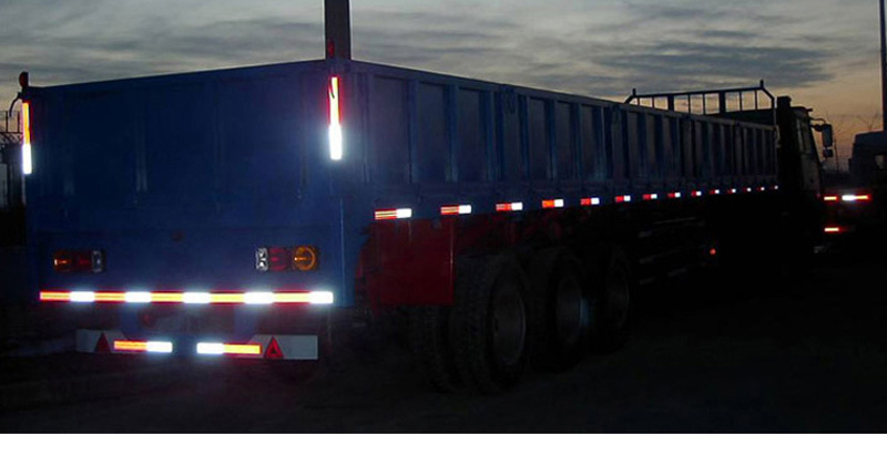 大货车、卡车为什么要贴3M反光贴?