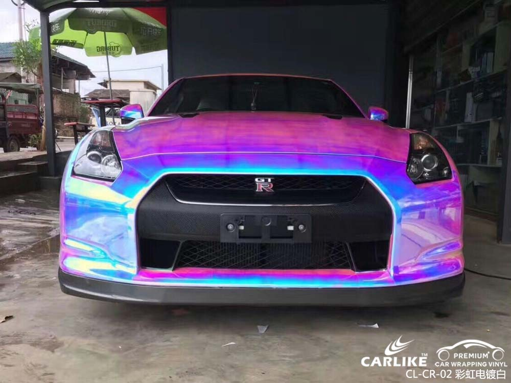 卡莱克™CL-CR-02东风日产彩虹电镀白整车改色膜