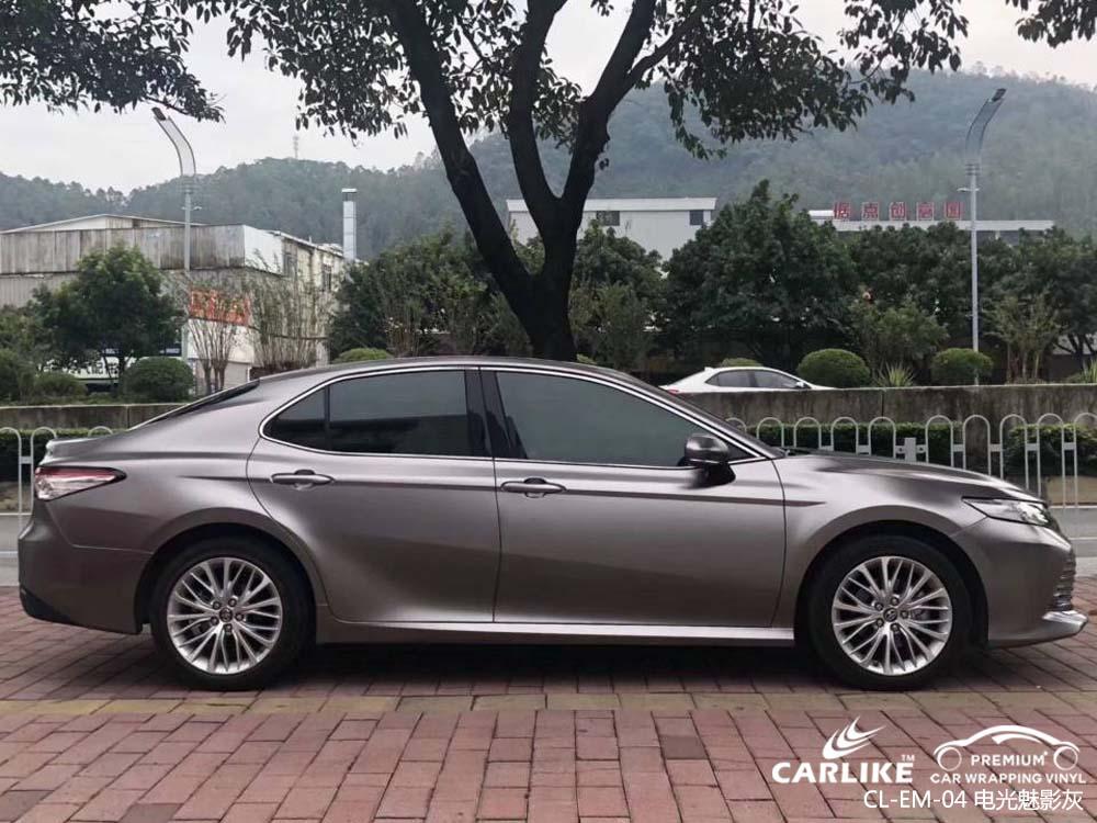 卡莱克电光系列之魅影灰汽车改色膜贴车效果图