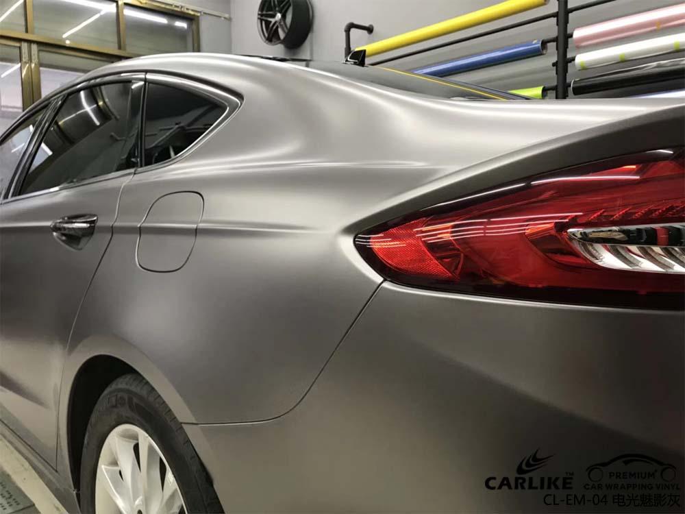汽车改色膜电光魅影灰改色贴膜效果图