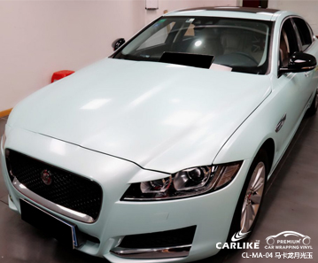 广州卡莱克全车改色马卡龙月光玉汽车贴膜效果图
