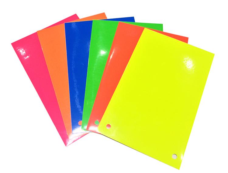 荧光纸即时贴户外不干胶超光亮刻字贴膜