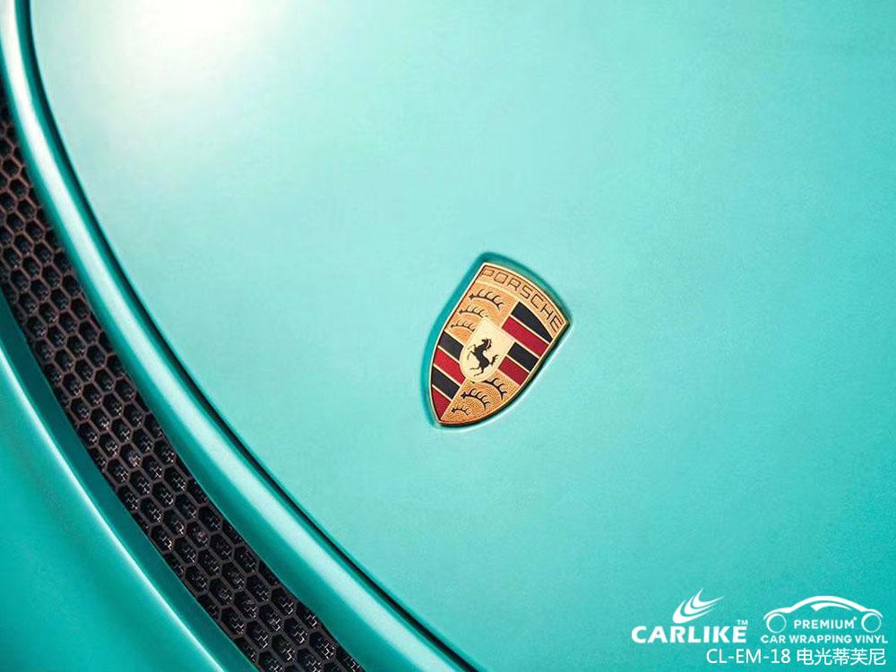 卡莱克电光蒂芙尼汽车改色膜贴车效果图