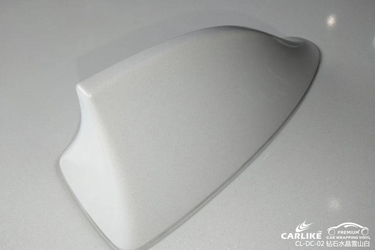 CARLIKE卡莱克™CL-DC-02宝马钻石水晶雪山白车身改色膜