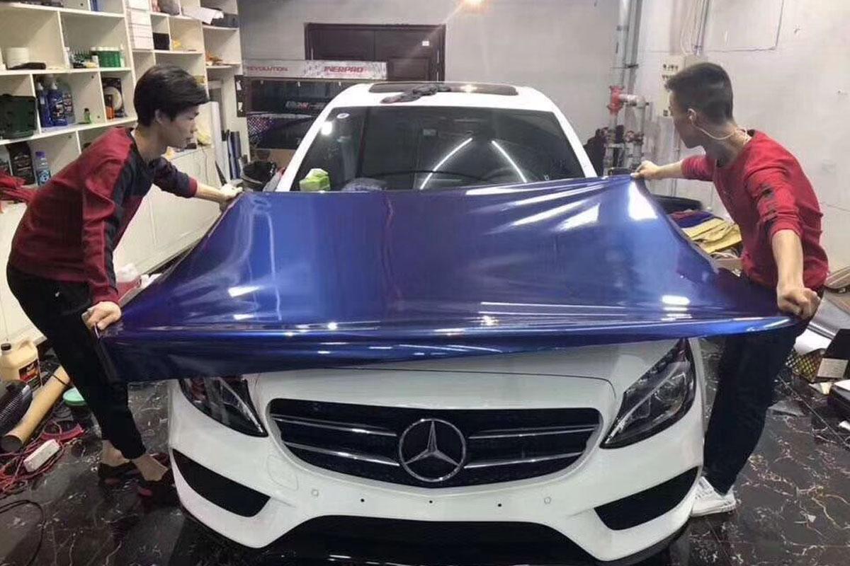 从冷门到受追捧,汽车改色贴膜为什么有这么大的魅力?
