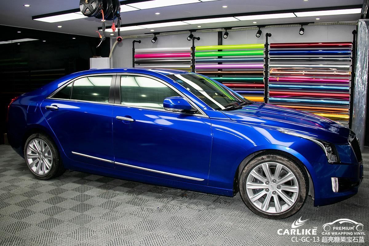 超亮糖果汽车改色膜贴车效果图展示