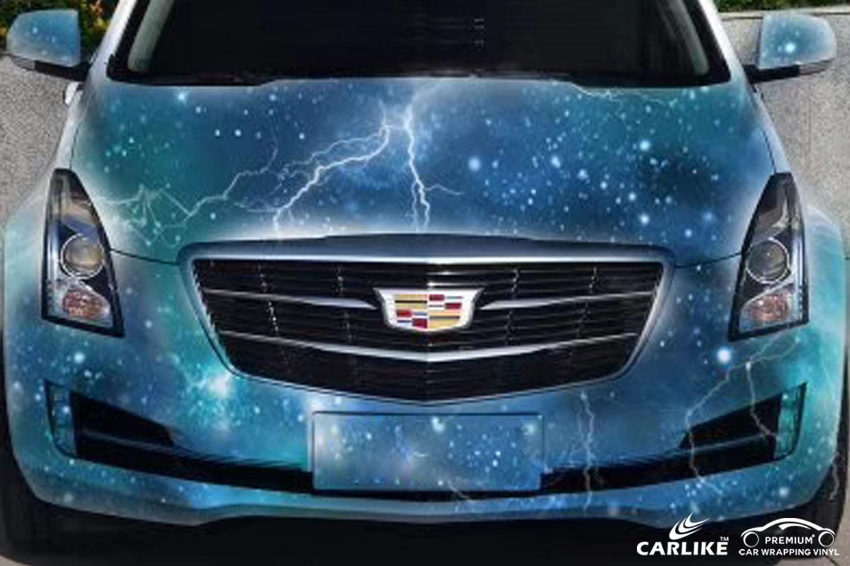CARLIKE卡莱克™CL-BS宝马保时捷星空闪电喷绘涂鸦汽车改色膜