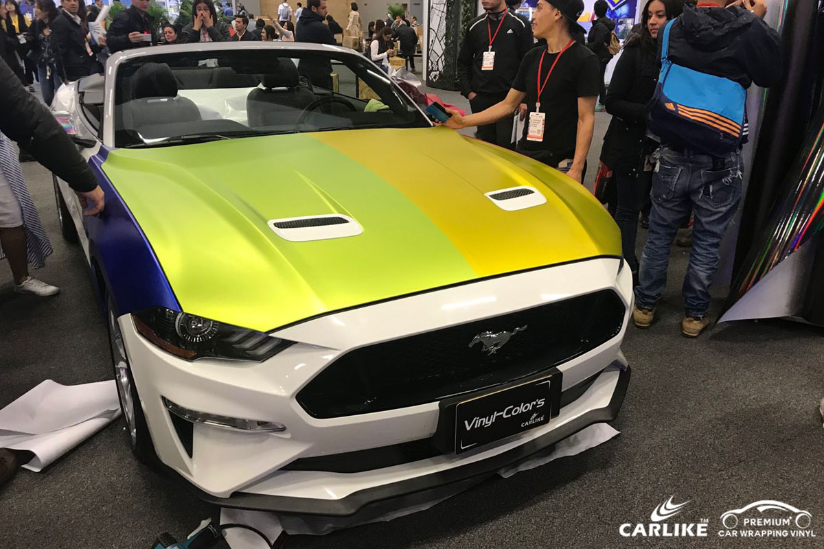CARLIKE品牌汽车膜携手Vinyl-Color's华丽亮相哥伦比亚展会