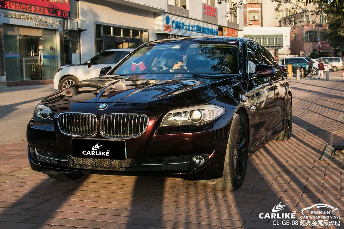 卡莱克超亮金属系列之超亮金属黑玫瑰汽车改色贴膜效果图