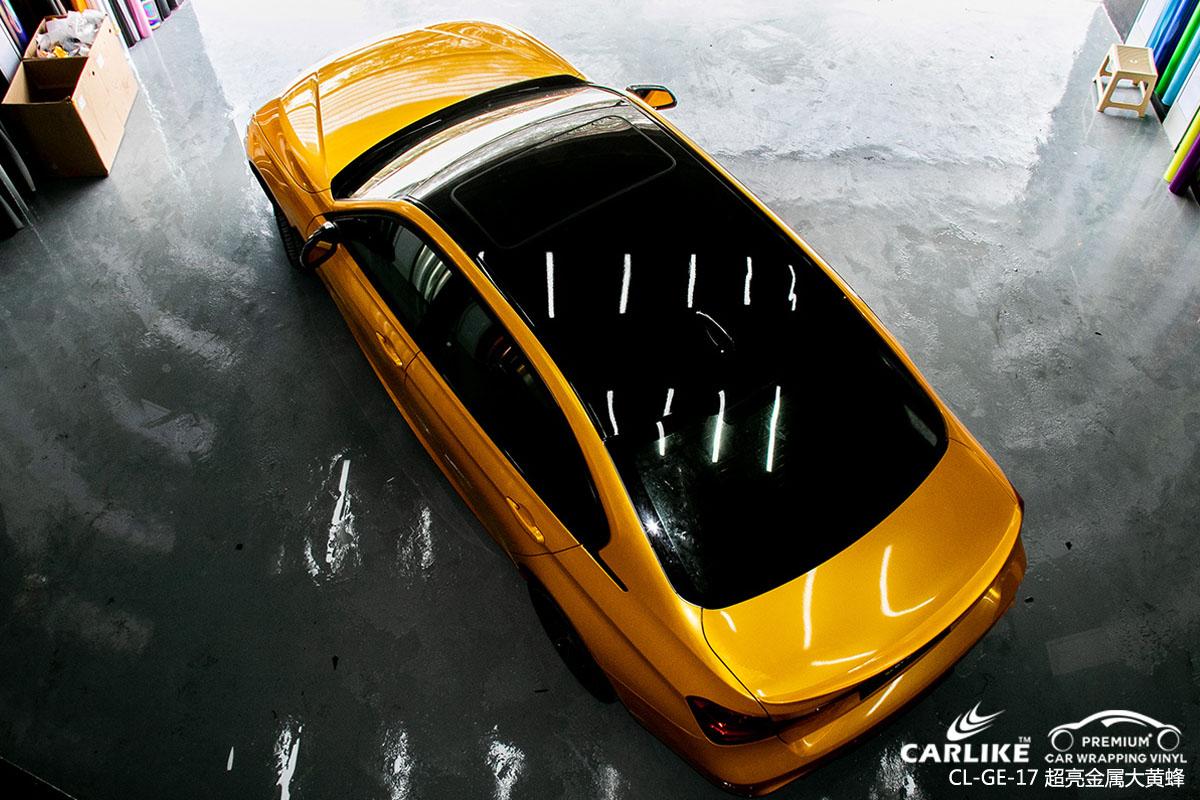 卡莱克超亮金属系列之超亮金属大黄蜂改色贴膜效果图