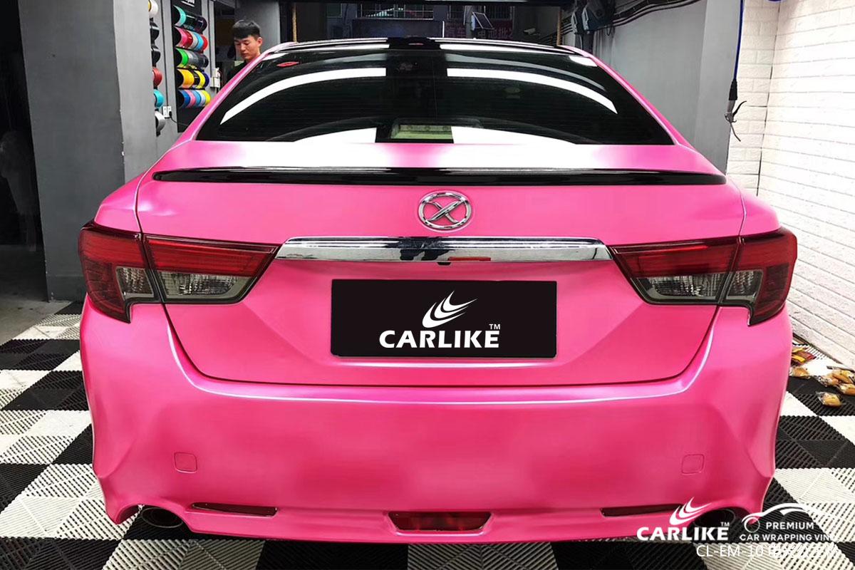 CARLIKE卡莱克™CL-EM-10丰田金属电光公主粉全车改色贴膜
