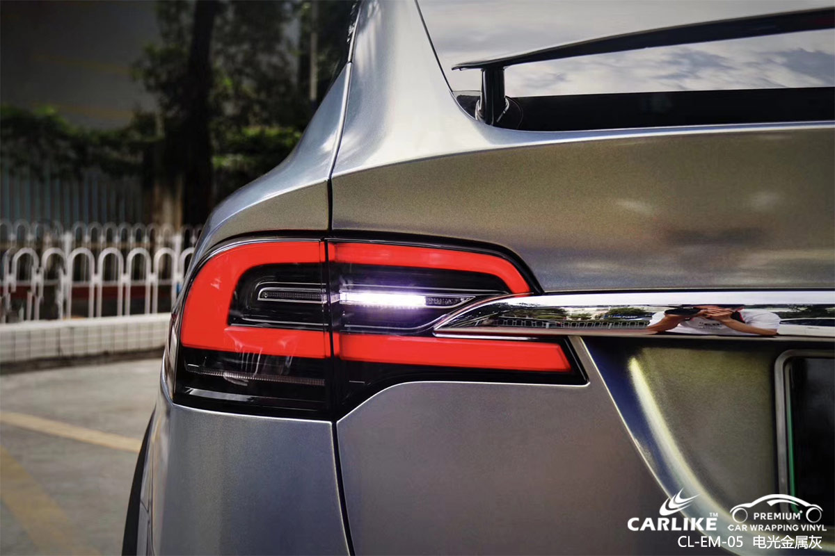 CARLIKE卡莱克™CL-EM-05凯迪拉克电光金属灰汽车改色