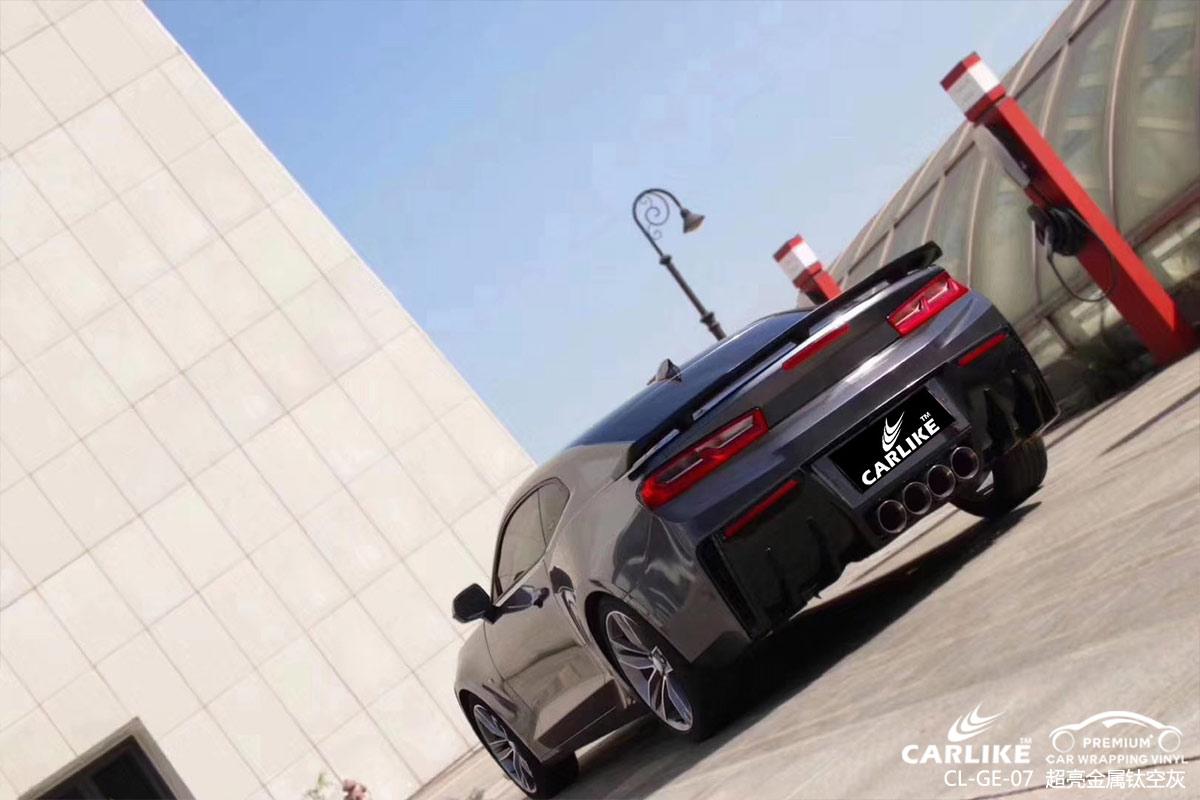 超亮金属钛空灰汽车改色贴膜效果图
