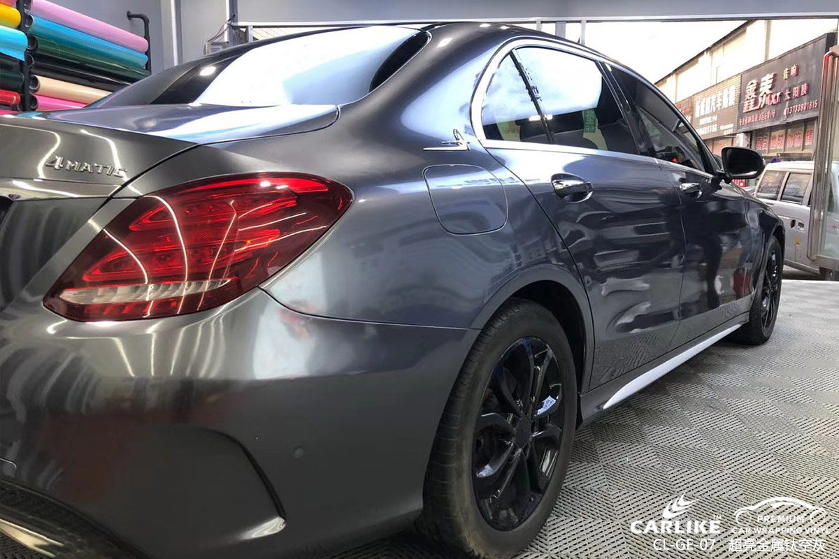 CARLIKE卡莱克™CL-GE-07奔驰超亮金属钛空灰汽车改色