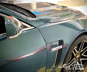 CARLIKE卡莱克™CL-EM-22凯迪拉克电光金属石墨绿汽车改色