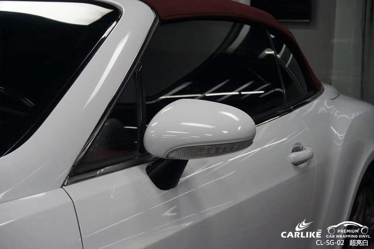 CARLIKE卡莱克™CL-SG-02宾利欧陆超亮白汽车贴膜