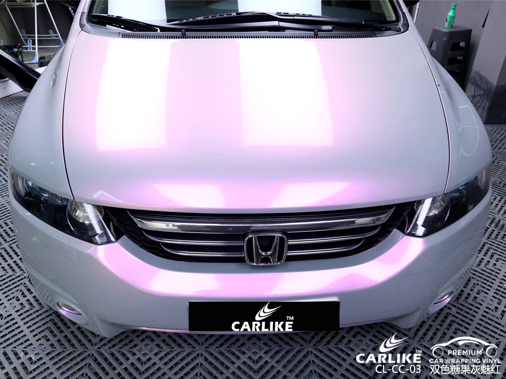 CARLIKE卡莱克™CL-CC-03本田双色糖果灰色魅红车身改色