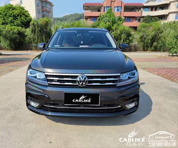 CARLIKE卡莱克™CL-IL-05大众七彩镭射星空黑整车贴膜